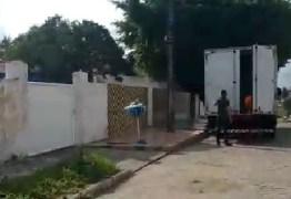 DESVIO DE FINALIDADE? Berg Lima teria usado caminhão da merenda para fazer sua mudança – VEJA VÍDEO