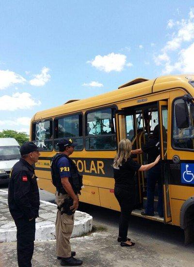 ESCOLAR 01 09 - Detran-PB inicia vistorias do transporte escolar dos municípios neste sábado