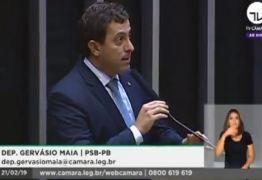 'O QUE BOLSONARO DIZ DE MANHÃ, NÃO SE ESCREVE À TARDE': Gervásio Maia critica mudança de postura do presidente sobre Previdência; VEJA VÍDEO