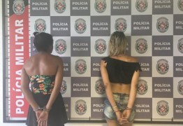 PM prende travestis suspeitas de solicitar corridas para roubar motoristas de aplicativo, em JP
