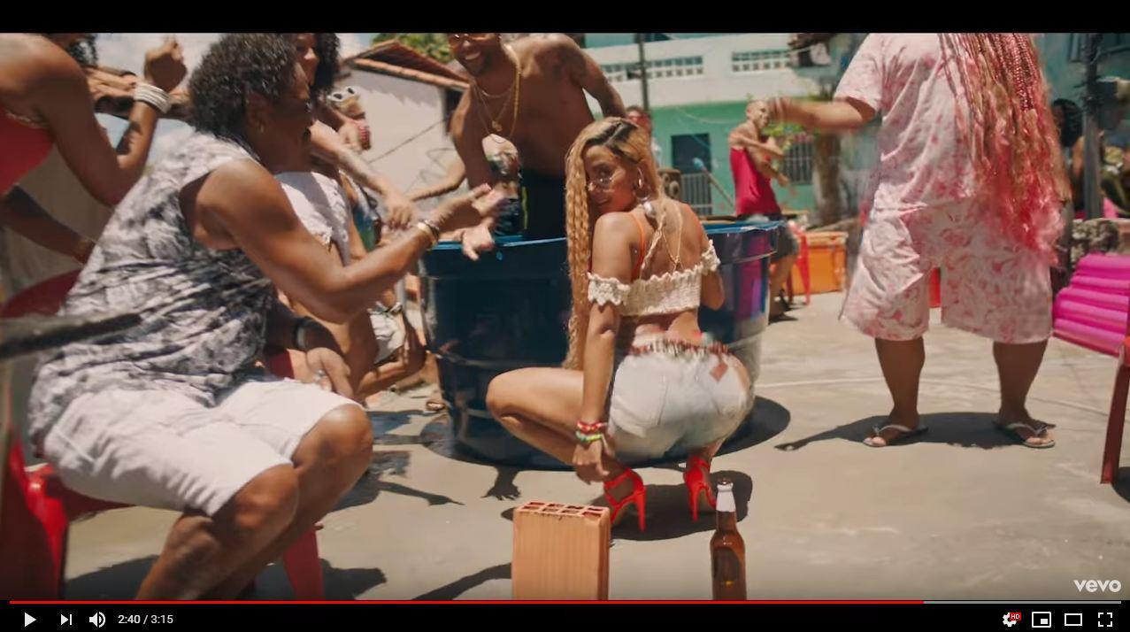 abundãncia - Novo clipe de Anitta tem dança do 'É o Tchan' e conta com participação de Compadre Washington - VEJA VÍDEO