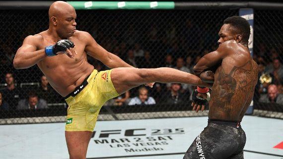 anderson silva e adesanya - UFC define data da próxima luta de Anderson Silva para evento no Brasil