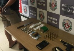 Homem é preso suspeito de tráfico de drogas em João Pessoa