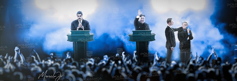 arte ditaduras - 'DEMOCRACIA PARA NÓS E TIRANIA PARA VOCÊS': o inconcebível apoio de brasileiros às ditaduras contemporâneas - por Felipe Nunes