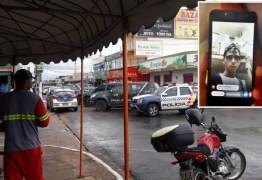 Assaltante fez live no Facebook enquanto roubava loja