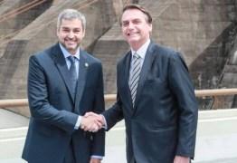 Bolsonaro elogia ditaduras do Brasil e do Paraguai durante troca da diretoria de Itaipu