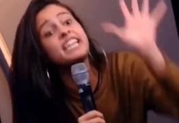 Hana se descontrola na Globo e parte para cima de convidada da emissora ao vivo
