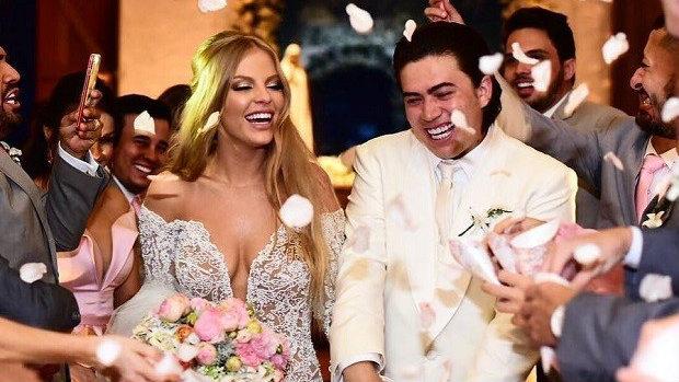 casamento luisa sonza e whindersson nunes - Luisa Sonza revela item mais caro do seu casamento com Whindersson Nunes - VEJA VÍDEO