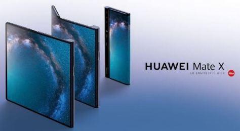 cell 300x164 - Huawei lança seu primeiro celular dobrável, o Mate X