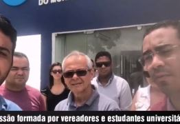 VEJA VÍDEO: Reunião com estudantes é cancelada e vereadores dizem que procuradora-geral de Santa Rita deve explicações
