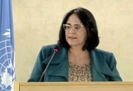 CONSELHO DA ONU: Damares diz que Brasil se preocupa com violações aos direitos humanos na Venezuela