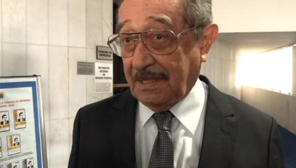 josé maranhão senado - Internado em SP com Covid-19, senador José Maranhão reage bem à retirada da sedação e deve ser desintubado nas próximas horas