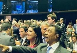 Representando João Azevedo, vice Lígia Feliciano participa da sessão de posse dos deputados federais em Brasília