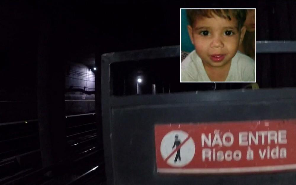 meninometro1 - Criança de três anos morre atropelada ao cair em trilhos de metrô - VEJA VÍDEO
