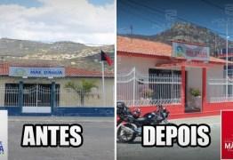 DETERMINAÇÃO JUDICIAL: Prefeito de Mãe D'água vai ter que pagar do próprio bolso repintura de prédios com cores de partido