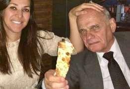 SAUDADES: Viúva de Boechat posta vídeo do jornalista: 'Cuide de quem você ama'