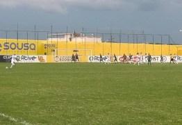 Marcelinho marca nos acréscimos e Perilima empata com o Sousa