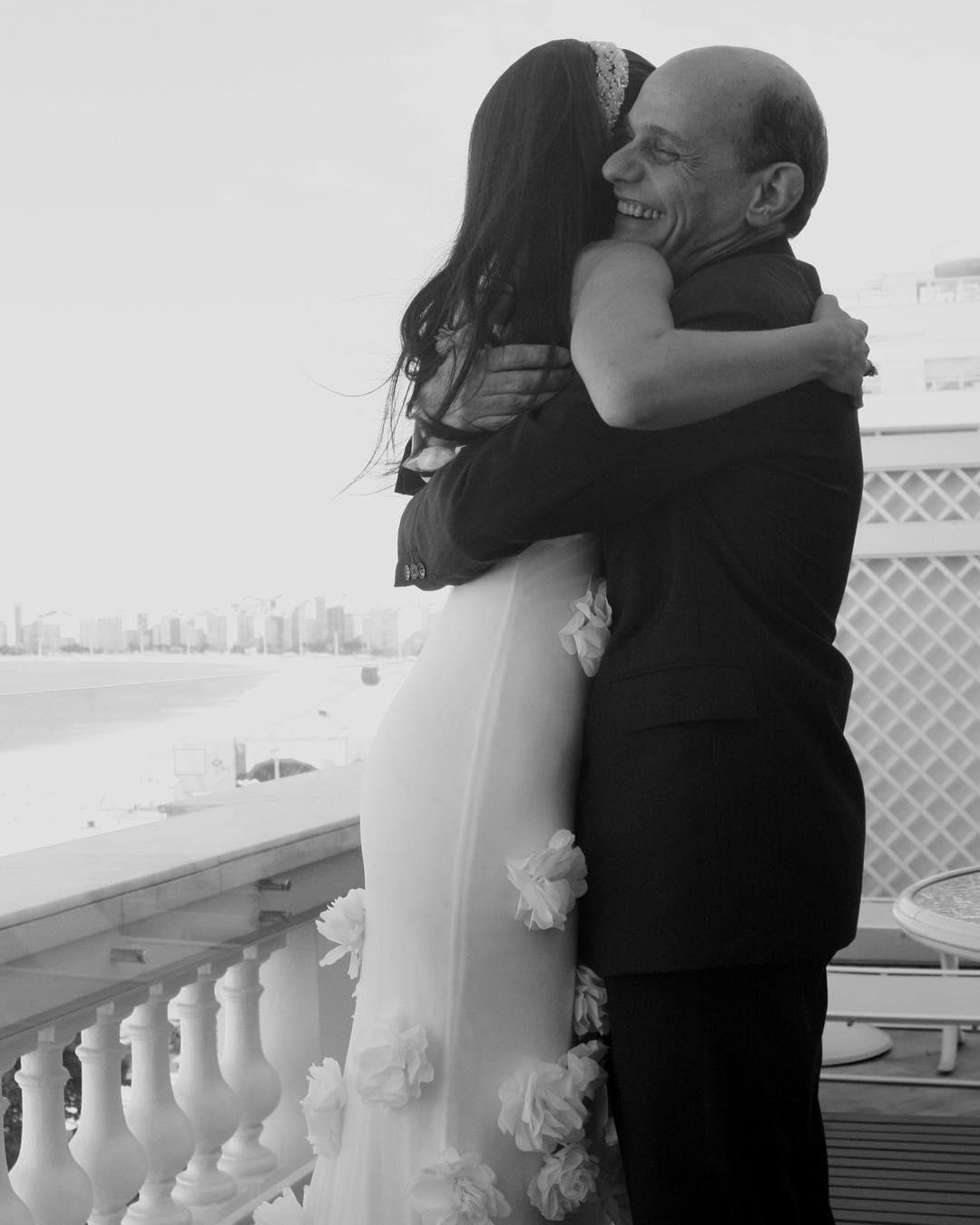ricardo boechat e esposa - 'PIOR DIA DA MINHA VIDA': Esposa de Ricardo Boechat publica foto em homenagem ao jornalista
