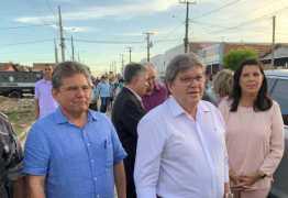 Presidente da ALPB participa de primeira inauguração da gestão João Azevêdo
