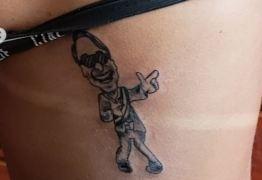 Tatuagem de Bolsonaro impede musa da Vila Maria de desfilar