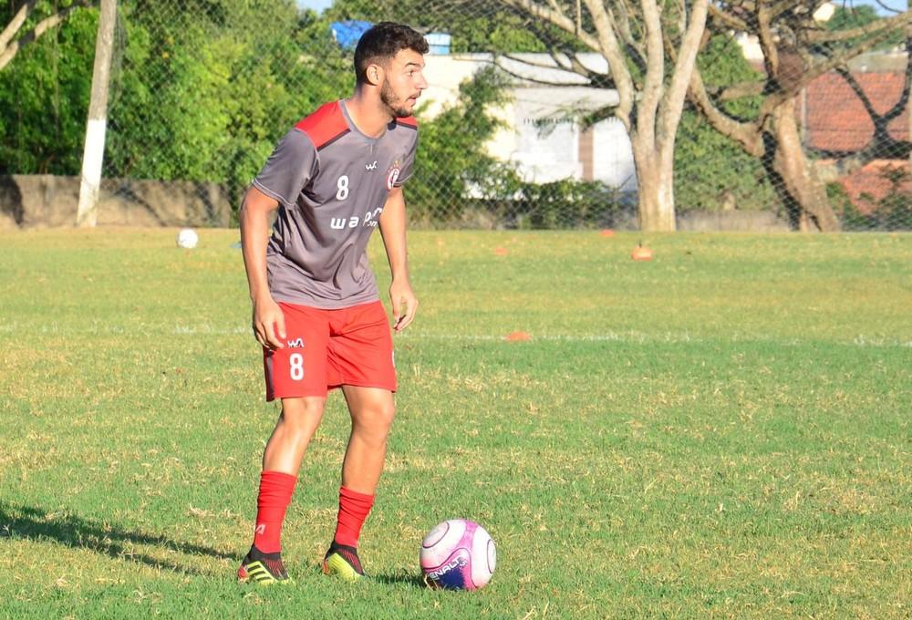 whatsapp image 2019 02 07 at 10.18.44 - CAMPINENSE: Alex Mineiro treina normalmente, não sente dor no tornozelo e está à disposição: 'Foi só um susto'