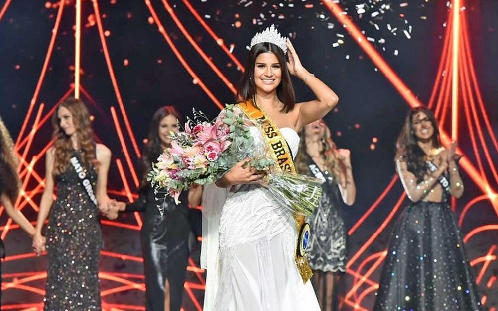Miss Minas Gerais Júlia Horta vence o concurso Miss Brasil 2019