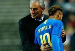 Tite 'enquadra' Neymar após a Copa do Mundo da Rússia