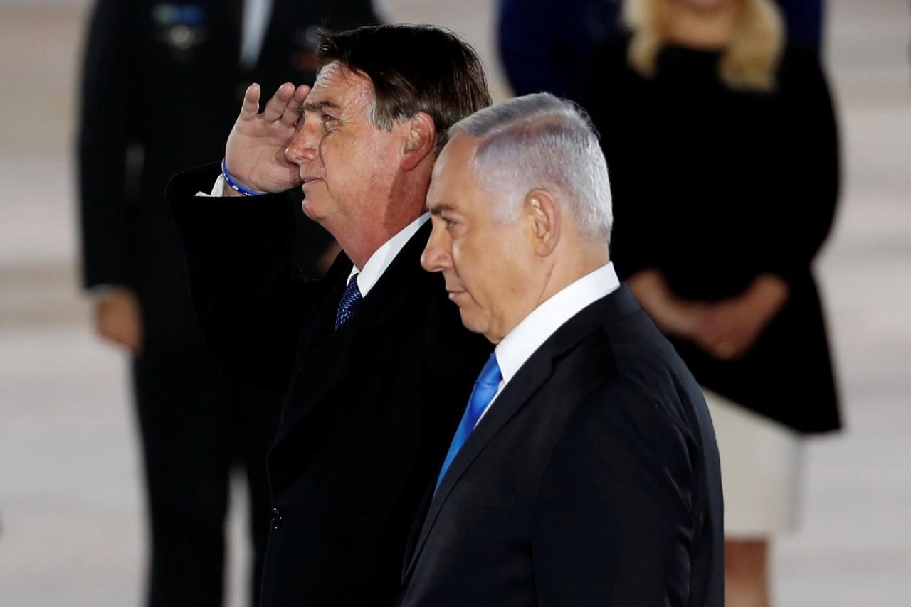2019 03 31t075243z 1720072051 rc16498b8340 rtrmadp 3 israel brazil bolsonaro arrival - Ministro israelense diz que Petrobras vai participar de leilão de petróleo e gás no país