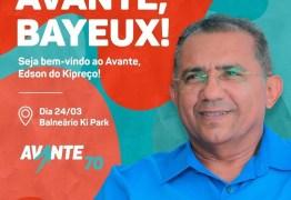 Na semana de filiação de Edson do Kipreço ao Avante, pré-candidato a prefeito de Bayeux aparece com a 'ficha suja' no TCU até 2024
