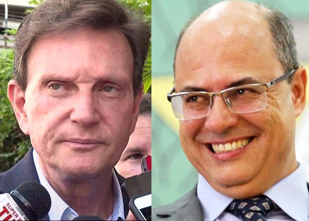 21critzel - PREFEITURA X ESTADO: Após críticas de Crivella à PM, Witzel retira policiais cedidos à prefeitura - VEJA VÍDEO