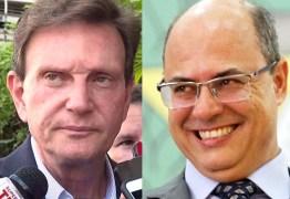 PREFEITURA X ESTADO: Após críticas de Crivella à PM, Witzel retira policiais cedidos à prefeitura – VEJA VÍDEO
