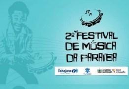 Confira as canções aprovadas no II Festival de Música da Paraíba