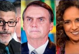 """Governistas ameaçam """"desmanche geral"""" se Bolsonaro receber Daniela Mercury"""