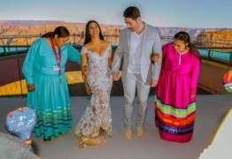 Simaria e marido renovam votos de casamento