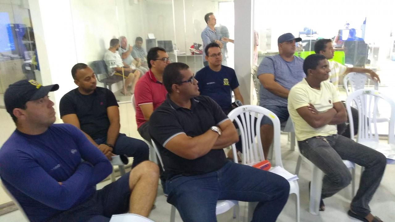 Capacitação Talonário Eletrônico 1 - Guardas Municipais de Conde participam de treinamento para usar Talonário Eletrônico
