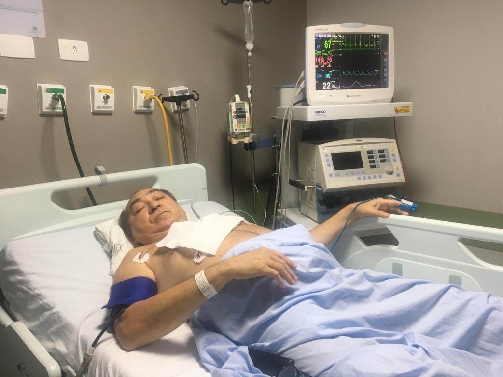 IMG 20190302 WA0040 - Após cirurgia cardíaca, Padre Albeni deixa UTI de hospital em João Pessoa