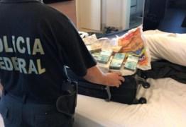 CAIXAS DE DINHEIRO: PF mira desvios de recursos públicos e faz buscas em casa de ex-governador