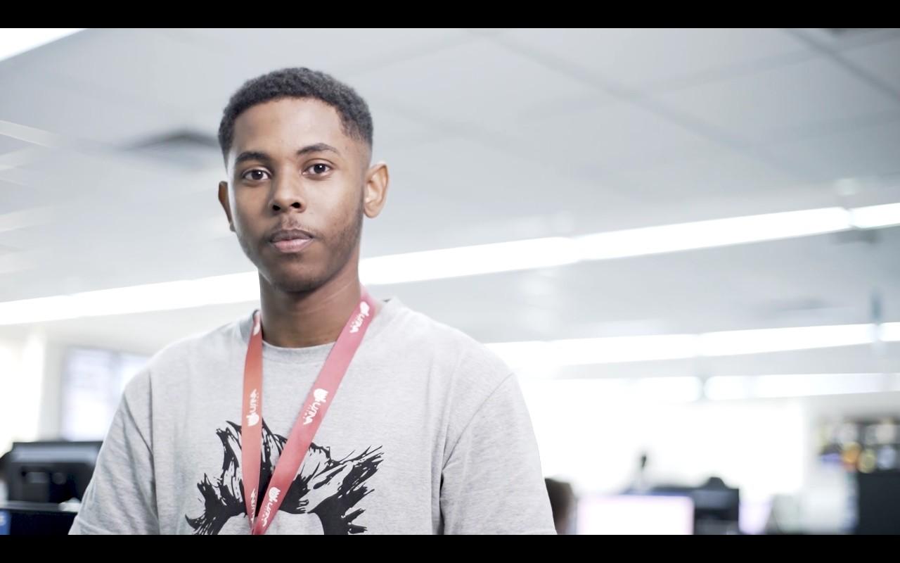 Joao 011 - PAIXÃO ESPORTIVA VIROU PROFISSÃO: estudante com sonho de ser jogador conquista vaga em um dos principais portais de notícias do país
