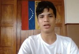 'ESTAMOS UNIDOS CONTRA MADURO': após sofrer perseguição, venezuelano que mora em CG manifesta apoio a protestos convocados por Guaidó; VEJA VÍDEO