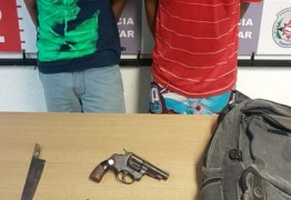 Suspeitos de praticar assaltos são presos após tentativa de fuga, em JP