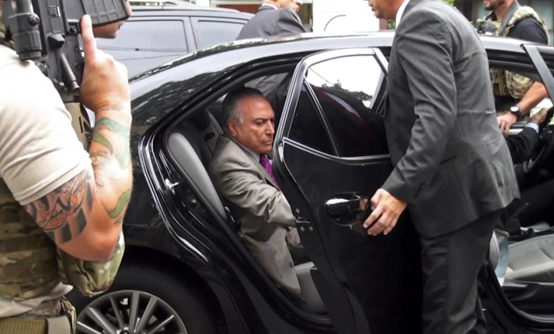 TEMER FORA: desembargador concede habeas corpus e manda soltar ex-presidente