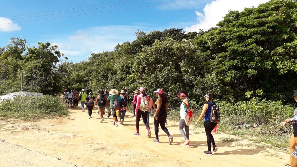 Trilha das Mulheres 3 - MARÇO DA CIDADANIA: Coordenadoria de Mulheres realiza II Trilha das Mulheres em Tambaba