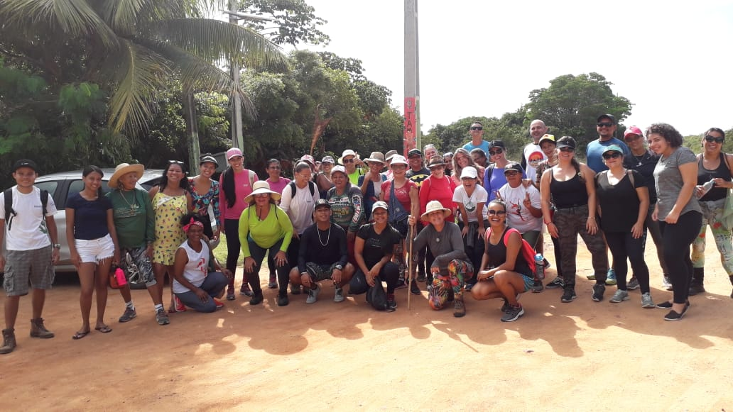 Trilha das Mulheres 5 - MARÇO DA CIDADANIA: Coordenadoria de Mulheres realiza II Trilha das Mulheres em Tambaba