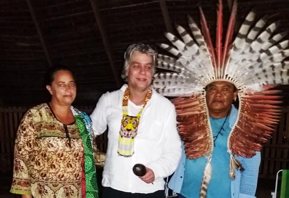 WhatsApp Image 2019 03 06 at 16.03.49 - Fábio Assunção passa Carnaval com índios no Acre
