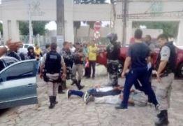 Trio é preso após assalto com perseguição e tiros no Centro de JP