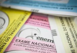 Pedido de isenção da inscrição do Enem começa nesta segunda-feira