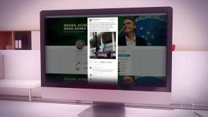 bolso rede social 300x169 - Postagens sobre 'golden shower' somem de rede social de Bolsonaro