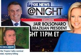 Na Fox News, Bolsonaro diz que 'a maioria dos imigrantes não tem boas intenções'