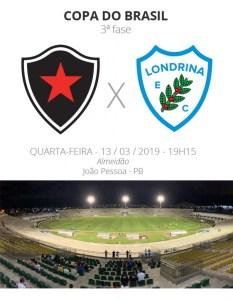 botafogo pb x londrina 233x300 - COPA DO BRASIL: Tudo o que você precisa saber sobre o confronto entre Botafogo-PB x Londrina