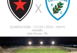 COPA DO BRASIL: Tudo o que você precisa saber sobre o confronto entre Botafogo-PB x Londrina